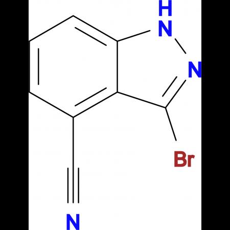 3-Bromo-1H-indazole-4-carbonitrile