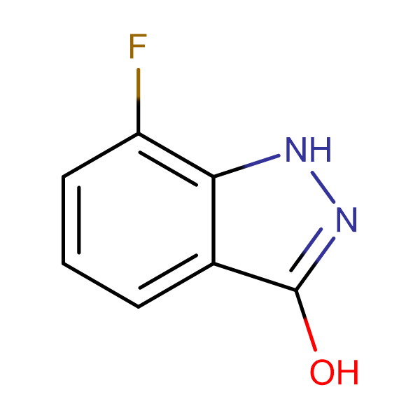 7-Fluoro-1H-indazol-3-ol