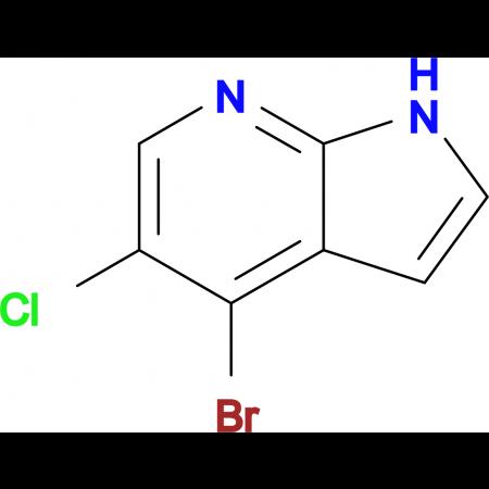 4-Bromo-5-chloro-1H-pyrrolo[2,3-b]pyridine