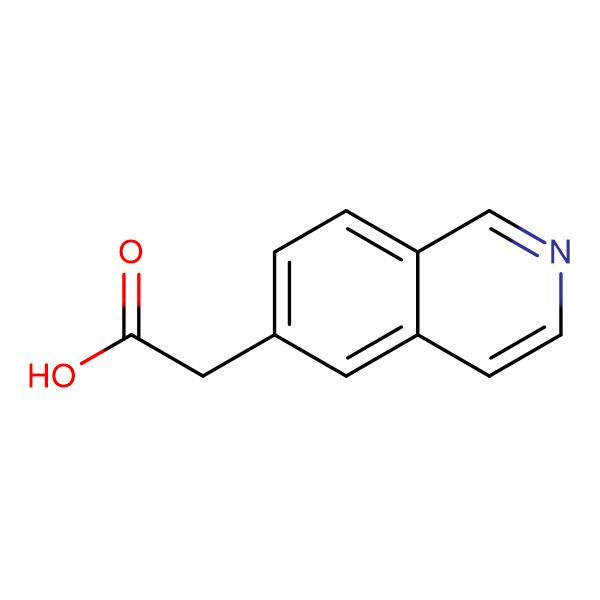 2-(Isoquinolin-6-yl)acetic acid