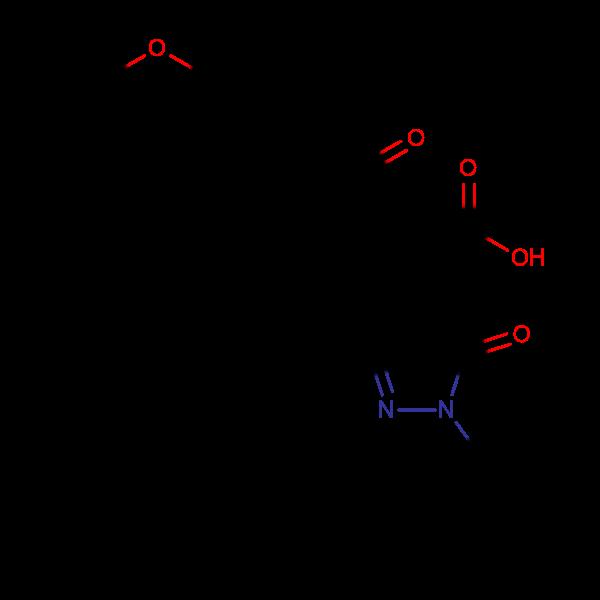 4-(4-Ethoxyphenyl)-2-(3-methyl-5-oxo-1-phenyl(2-pyrazolin-4-yl))-4-oxobutanoic acid, 95%