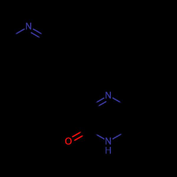 3-(2-(3-pyridyl)vinyl)hydroquinoxalin-2-one, 98%