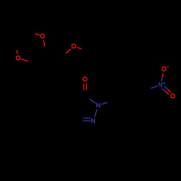 3-(tert-butyl)-1-(4-nitrophenyl)-4-((3,4,5-trimethoxyphenyl)methylene)-2-pyrazolin-5-one, 97%