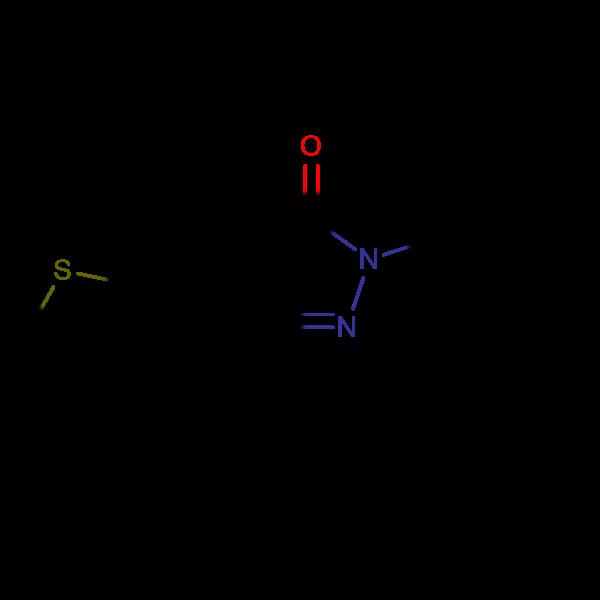 3-(tert-butyl)-1-phenyl-4-(2-thienylmethylene)-2-pyrazolin-5-one, 97%