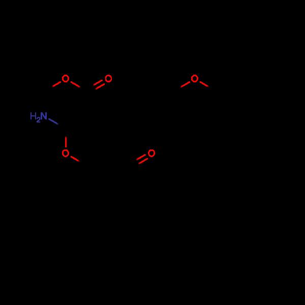 ethyl 2-amino-4-(4-butoxyphenyl)-7,7-dimethyl-5-oxo-4,6,7,8-tetrahydro2H-chromene-3-carboxylate, 95%