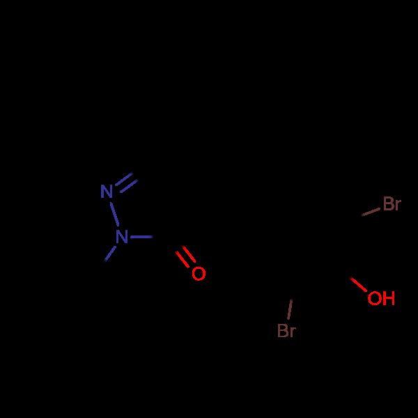 5-(tert-Butyl)-4-(3,5-dibromo-4-hydroxybenzylidene)-2-phenyl-2,4-dihydro-3H-pyrazol-3-one