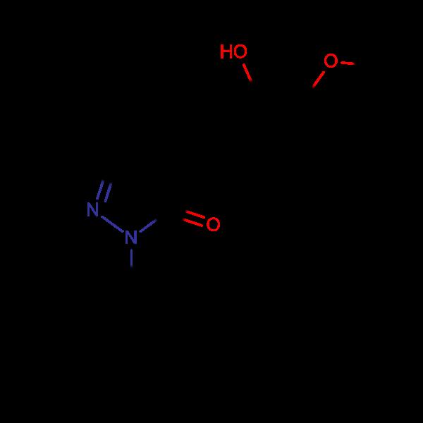 3-(tert-butyl)-4-((2-hydroxy-3-methoxyphenyl)methylene)-1-phenyl-2-pyrazolin-5-one, 95%