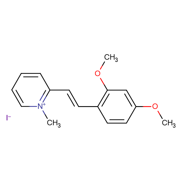 2-(2,4-Dimethoxystyryl)-1-methylpyridin-1-ium iodide