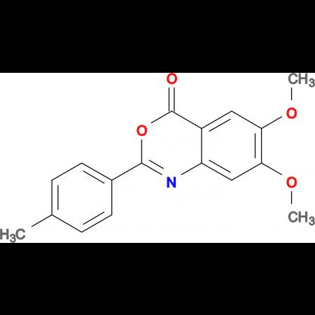 6,7-Dimethoxy-2-(p-tolyl)-4H-benzo[d][1,3]oxazin-4-one