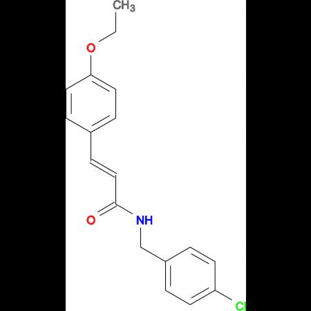 N-(4-Chlorobenzyl)-3-(4-ethoxyphenyl)acrylamide