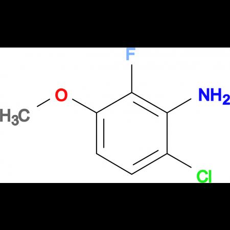 6-Chloro-2-fluoro-3-methoxyaniline