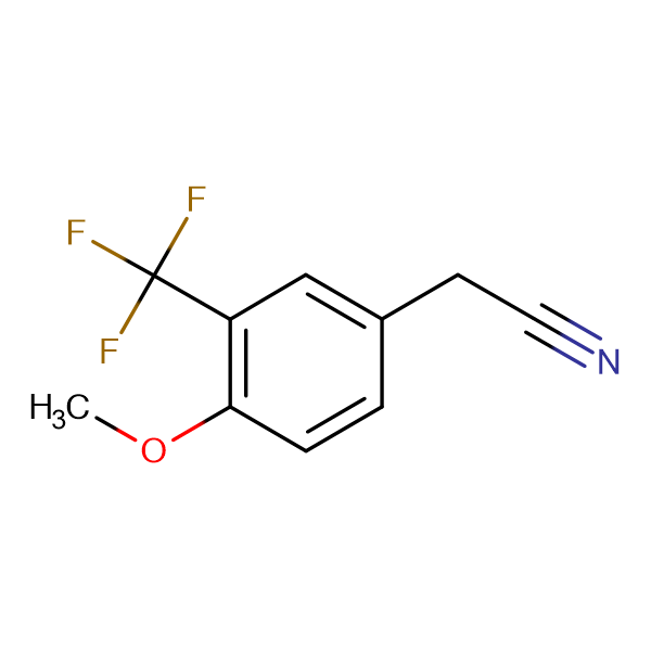4-Methoxy-3-(trifluoromethyl)phenylacetonitrile