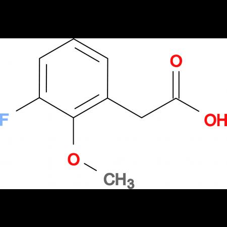 3-Fluoro-2-methoxyphenylacetic acid