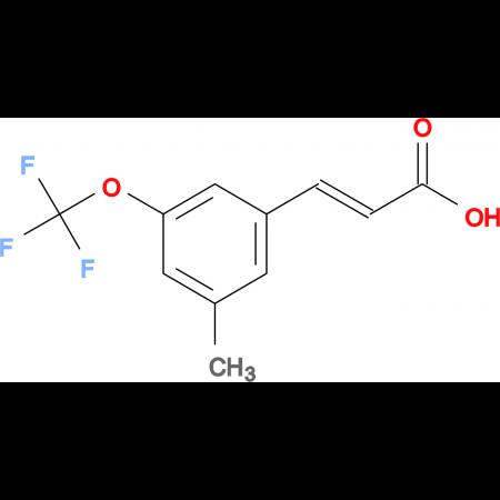 3-Methyl-5-(trifluoromethoxy)cinnamic acid