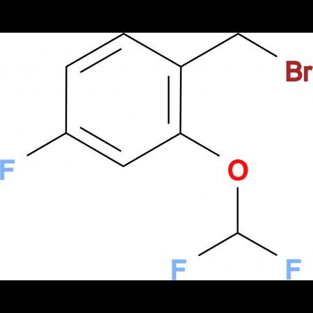 2-(Difluoromethoxy)-4-fluorobenzyl bromide