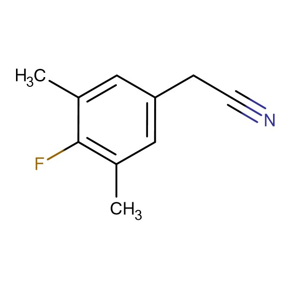4-Fluoro-3,5-dimethylphenylacetonitrile