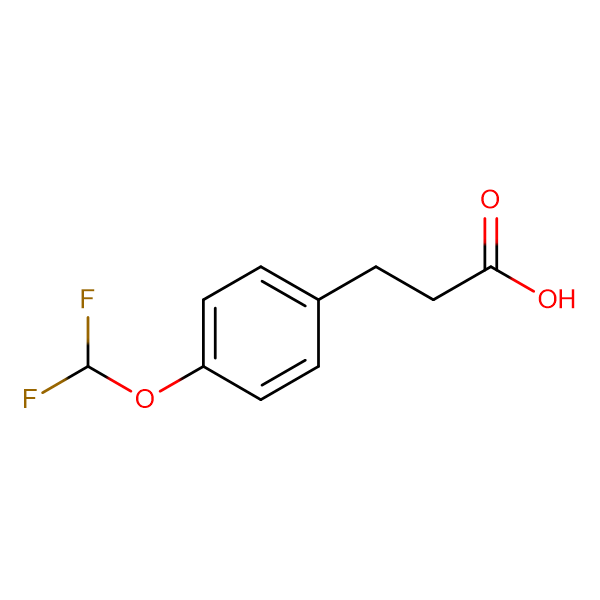 3-[4-(Difluoromethoxy)phenyl]propionic acid