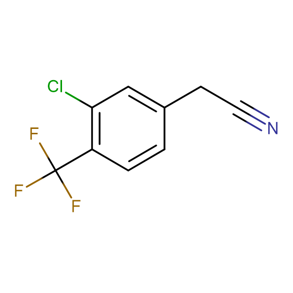 3-Chloro-4-(trifluoromethyl)phenylacetonitrile