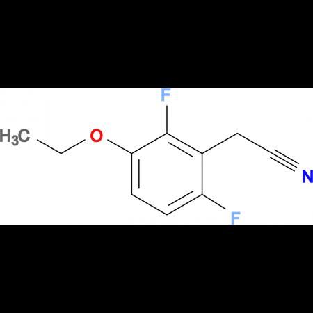 3-Ethoxy-2,6-difluorophenylacetonitrile
