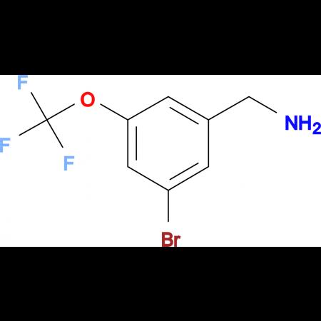 3-Bromo-5-(trifluoromethoxy)benzylamine