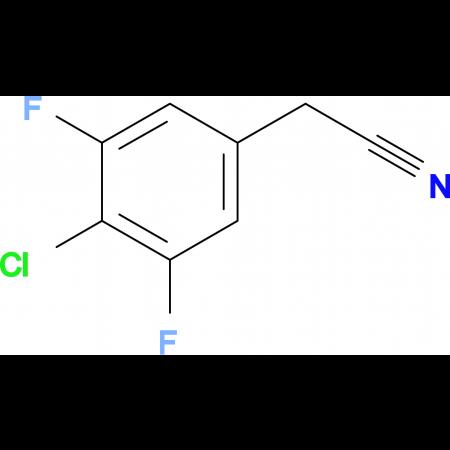 4-Chloro-3,5-difluorophenylacetonitrile