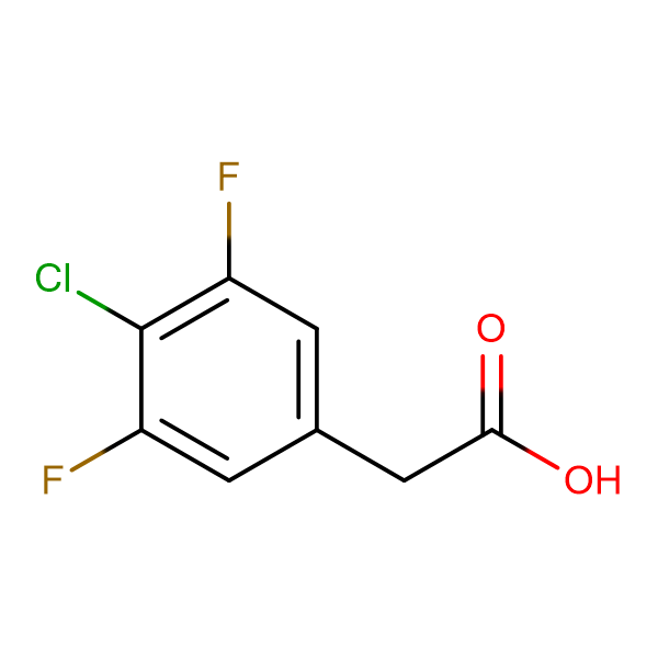 4-Chloro-3,5-difluorophenylacetic acid