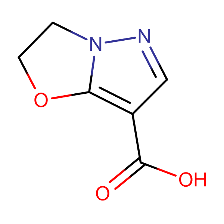 2,3-Dihydropyrazolo[5,1-b]oxazole-7-carboxylic acid