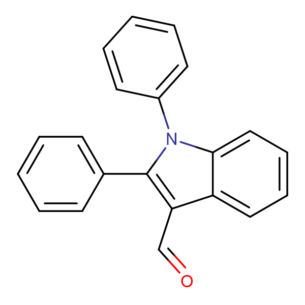 1,2-Diphenyl-1H-indole-3-carbaldehyde