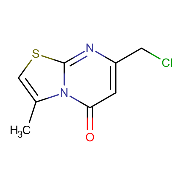 7-(chloromethyl)-3-methyl-5H-[1,3]thiazolo[3,2-a]pyrimidin-5-one