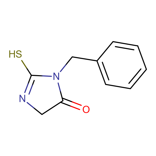 3-benzyl-2-mercapto-3,5-dihydro-4H-imidazol-4-one