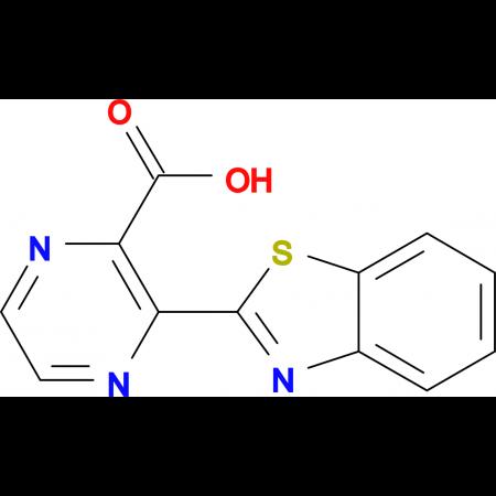3-(1,3-benzothiazol-2-yl)pyrazine-2-carboxylic acid