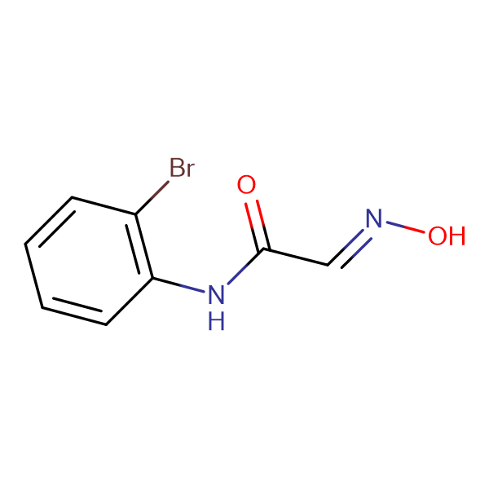 (2E)-N-(2-bromophenyl)-2-(hydroxyimino)acetamide