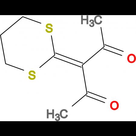3-(1,3-dithian-2-ylidene)pentane-2,4-dione