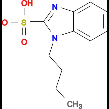 1-butyl-1H-1,3-benzodiazole-2-sulfonic acid