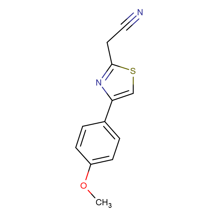 2-[4-(4-methoxyphenyl)-1,3-thiazol-2-yl]acetonitrile