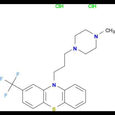 10-[3-(4-methylpiperazin-1-yl)propyl]-2-(trifluoromethyl)-10H-phenothiazine dihydrochloride