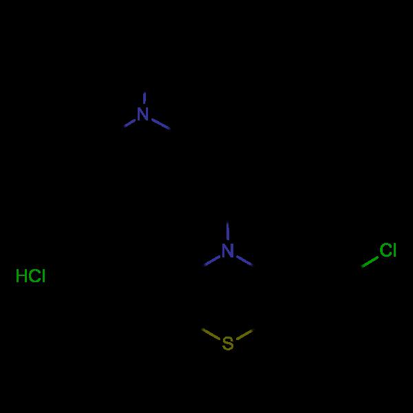 [3-(2-chloro-10H-phenothiazin-10-yl)propyl]dimethylamine hydrochloride