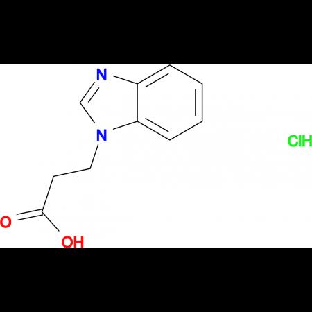 3-(1H-benzimidazol-1-yl)propanoic acid hydrochloride