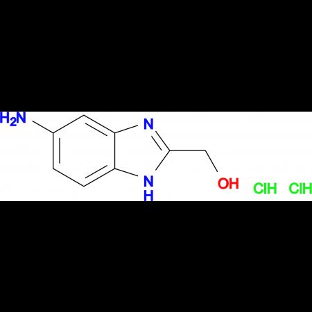 (5-amino-1H-benzimidazol-2-yl)methanol dihydrochloride