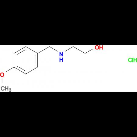 2-[(4-methoxybenzyl)amino]ethanol hydrochloride