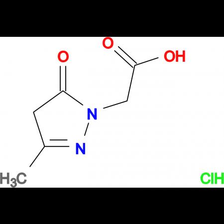 (3-methyl-5-oxo-4,5-dihydro-1H-pyrazol-1-yl)acetic acid hydrochloride