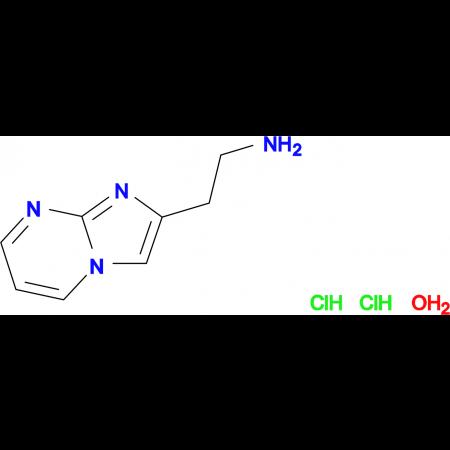 (2-imidazo[1,2-a]pyrimidin-2-ylethyl)amine dihydrochloride hydrate