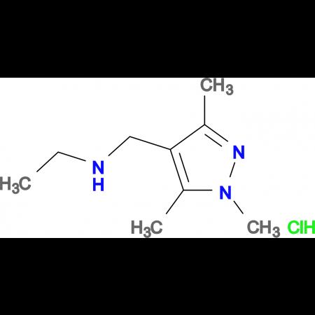 N-[(1,3,5-trimethyl-1H-pyrazol-4-yl)methyl]ethanamine hydrochloride