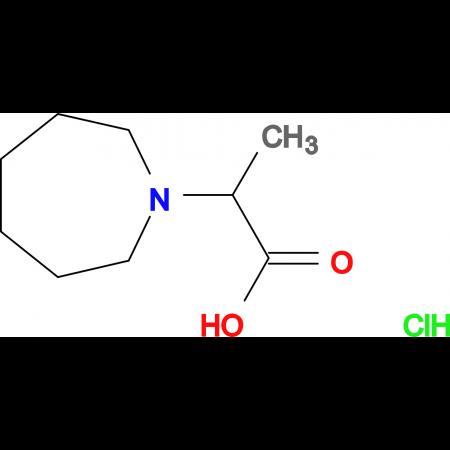 2-(1-azepanyl)propanoic acid hydrochloride