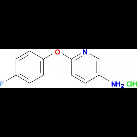 6-(4-fluorophenoxy)-3-pyridinamine hydrochloride