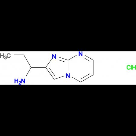 (1-imidazo[1,2-a]pyrimidin-2-ylpropyl)amine hydrochloride