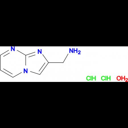 (imidazo[1,2-a]pyrimidin-2-ylmethyl)amine dihydrochloride hydrate