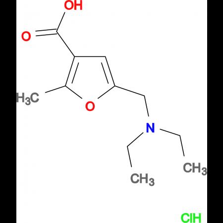 5-[(diethylamino)methyl]-2-methyl-3-furoic acid hydrochloride