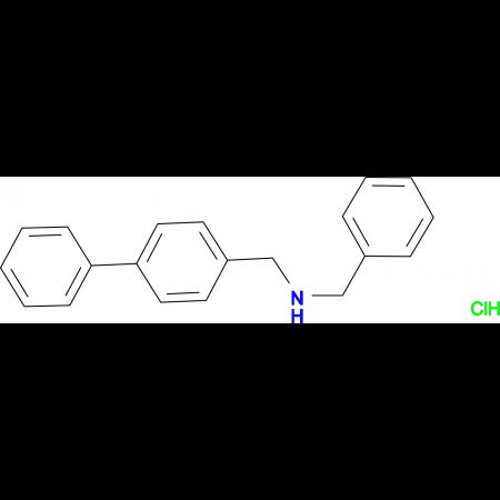 N-benzyl-1-(4-biphenylyl)methanamine hydrochloride