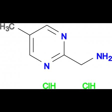 (5-Methylpyrimidin-2-yl)methanamine dihydrochloride